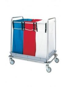 Carro 3 bolsas para el transporte de ropa