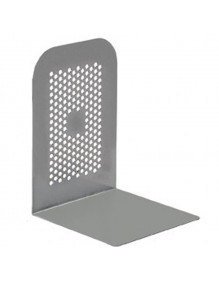 Sujetalibros Grande metalico de chapa perforada