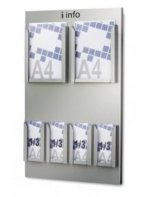 Expositor portafolletos de pared  (215902)