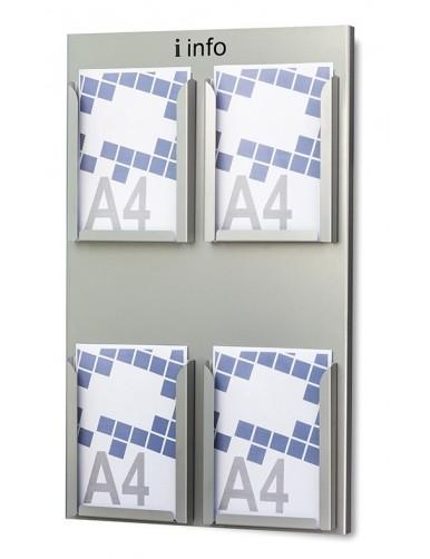 Expositor Portafolletos de pared din A4V  (215402)