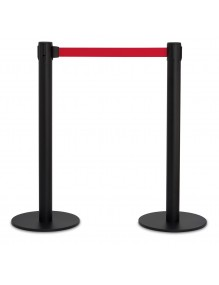 2-Unit  Retractable belt posts 2 meters
