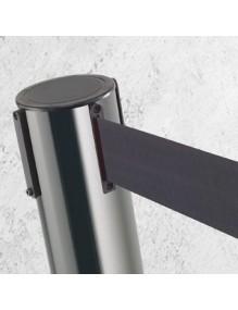Poste separador Inox cinta 2 metros extensible retractil