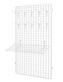 Panel 90x60x1 + placa fijación pared
