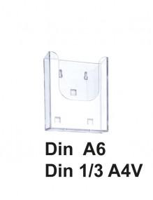 Expositor portafolletos metacrilato Din A6 (1021pol)