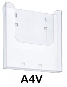Display stand A4V ( brochure holders ) (1020pol)