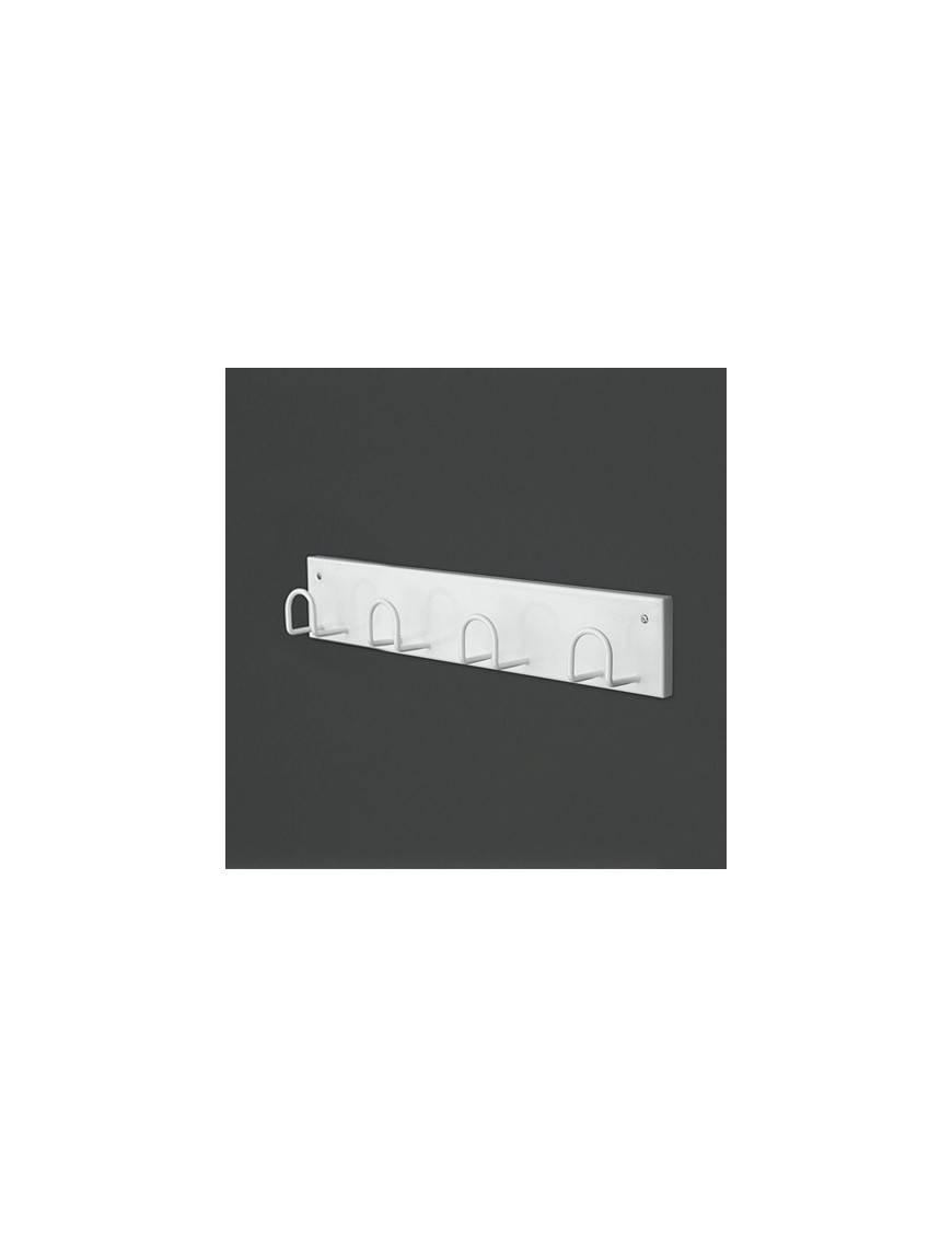 Wall-mounted rack  with 4 hooks