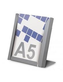 Expositor para folletos A5V de sobremesa