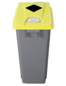 Papelera Contenedor de reciclaje 60 litros