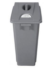 Papelera Contenedor de reciclaje 80 litros