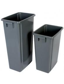 Papelera Contenedor de reciclaje sin tapa 60 litros