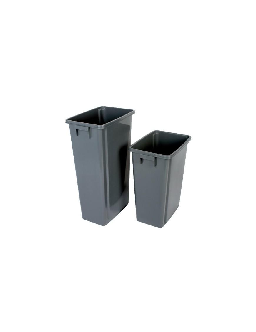 poubelle de recyclage sans couvercle 80 litres corbeilles. Black Bedroom Furniture Sets. Home Design Ideas