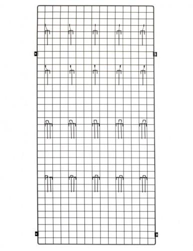 Panel 90x30x1 + placa fijación pared