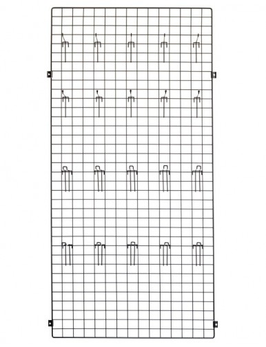 Panel 90x90x1 + placa fijación pared