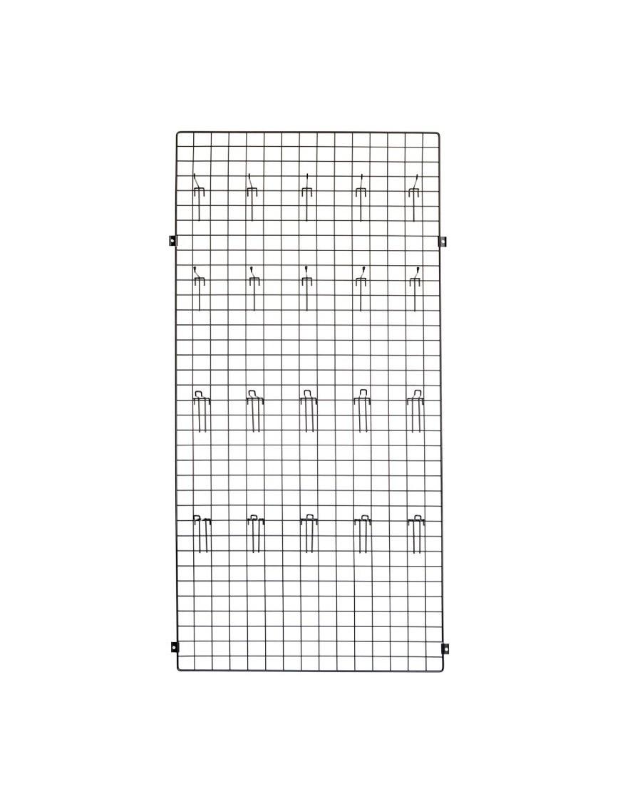 Panel 150x30x1 + placa fijación pared