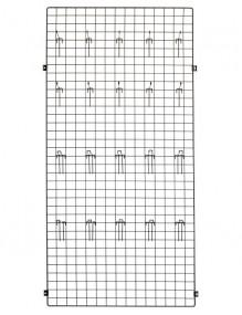 Panel 180x30x1 + placa fijación pared