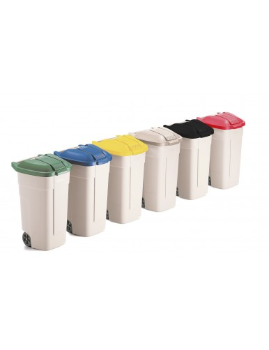 Papelera Contenedor de reciclaje 100L