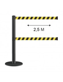 Extendable  Post 2.5 meters