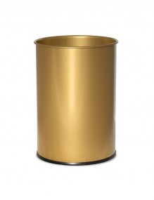 Wastepaper basket 12 Liters. Color GOLD