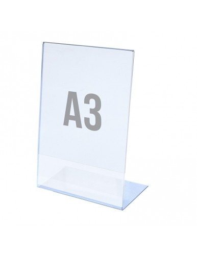 Tabletop A3V display stand