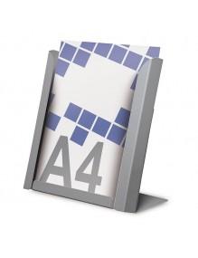 Expositor para folletos A4V de sobremesa