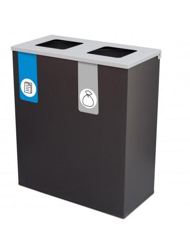 Papelera de reciclaje 70L