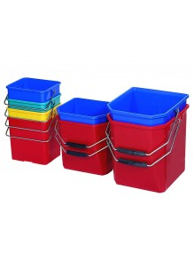 Plastic buckets 6 Liters