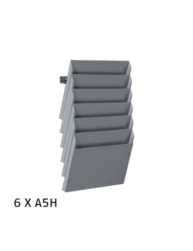 Expositor de pared A5H 6 Dptos