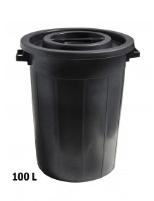 Industrial container with lid. 100 L.