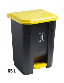 Container with pedal  - 60 Liters