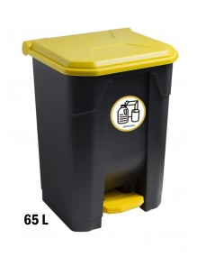 Container with pedal  - 65 Liters