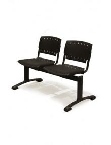 Bancada de 2 asientos poliamida