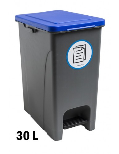 Garbage container with pedal 30 Liters