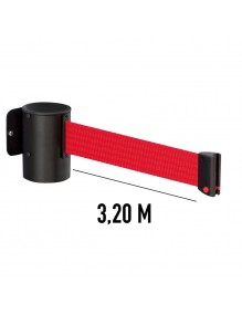 Wall Extendable / Retractable belt posts 3,2 meters
