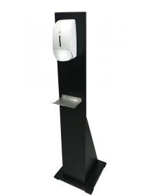 Soporte de pie para dispensador automático de gel y jabón de manos (D8)