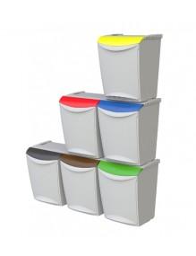 Cubo de basura modular 25 litros