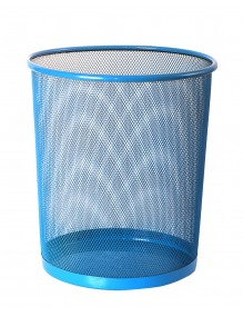 Wastepaper basket - 28 x 26,5 cm - 3 colors