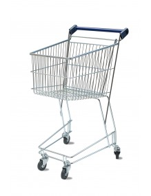 Shopping cart with a capacity of 100 liters