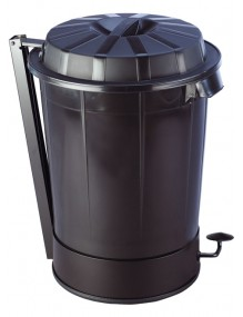 Container with lid.- 70 liters