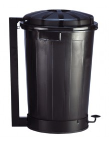 Container with lid.- 95 liters
