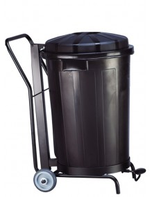Container with lid. 95 liters