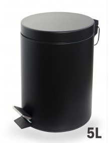 Pedal bin 5 Liters - Color black