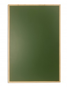 Pizarra verde para tiza