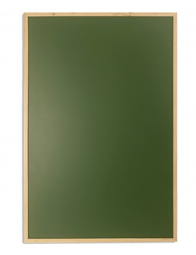 Green board with chalk