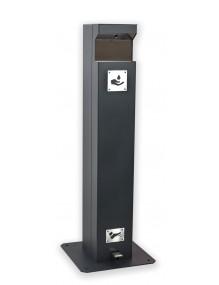 Columna Dispensador de Gel Hidroalcohólico para garrafa de 5 litros