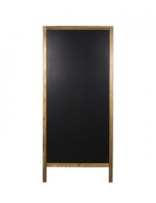 Pizarra de caballete de doble cara - 71x160 cm