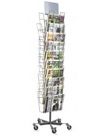 Expositor para periódicos de 20 departamentos