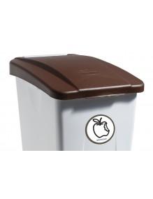 80 Liter Behälter Pedal (Etikette)