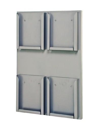 Expositor Portafolletos de pared Din A4V