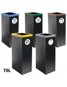 Wastepaper basket 70 Liters