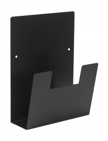 Wandprospekthalter A4V (Schwarz)